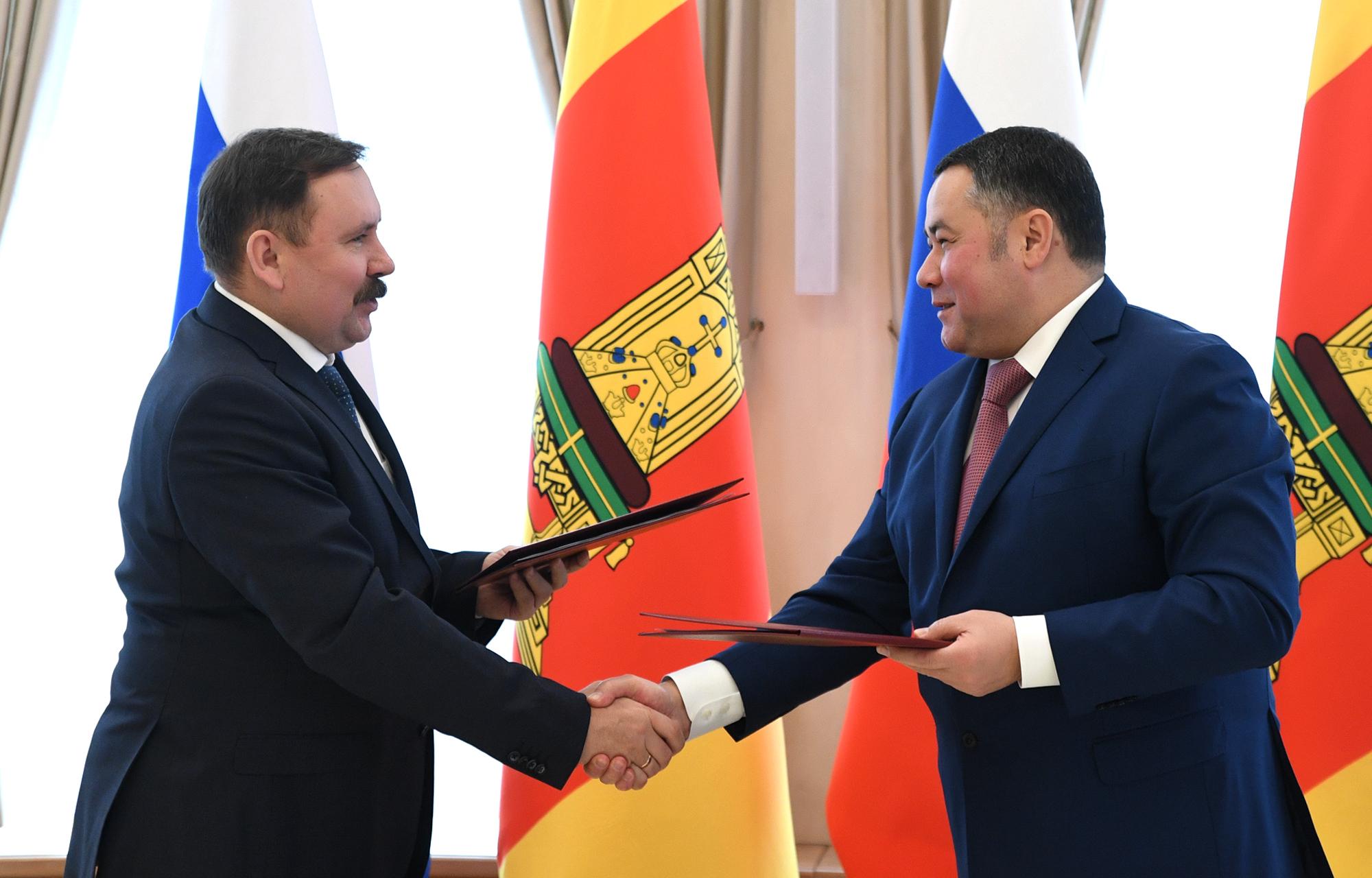 Правительство Тверской области и ФСИН России подписали соглашение о взаимодействии