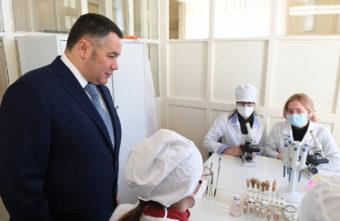 Ипотека для молодых учёных: Игорь Руденя встретился с руководителями ведущих вузов Тверской области