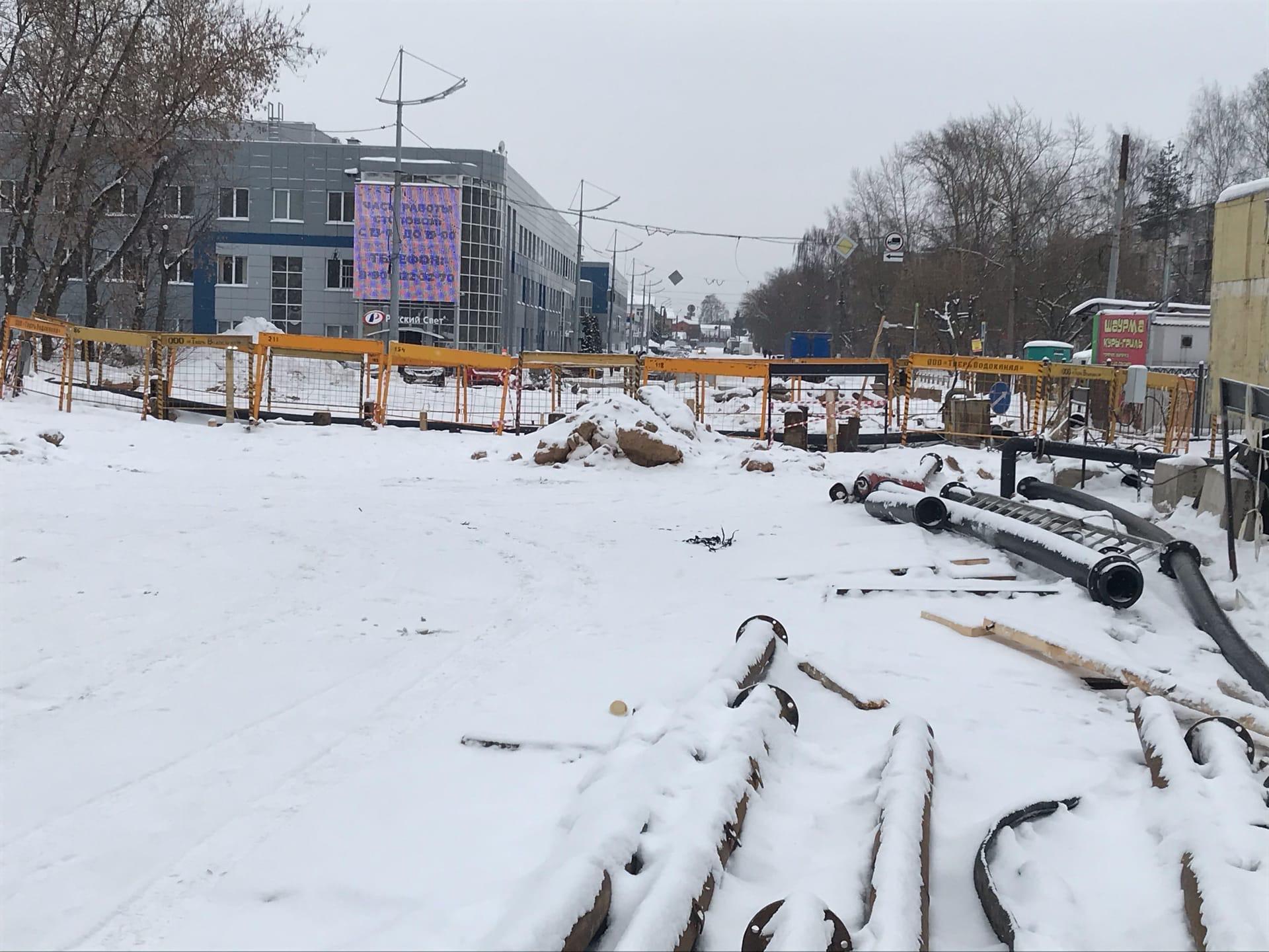 Проспект Победы в Твери перекрыли ещё на месяц: что думают жители