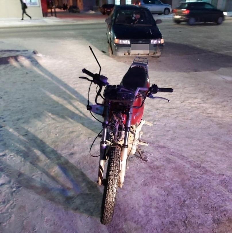 У мопедиста, сбитого в Тверской области, не было водительских прав
