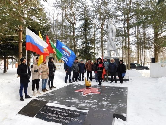 В Тверской области прошла минута молчания в память о солдатах, погибших в Афганистане