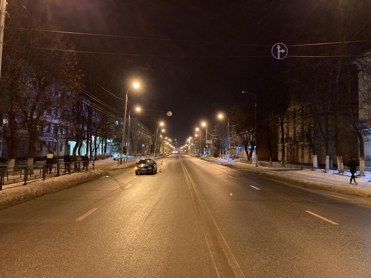 Начинающий водитель сбил пешехода-нарушителя в Твери