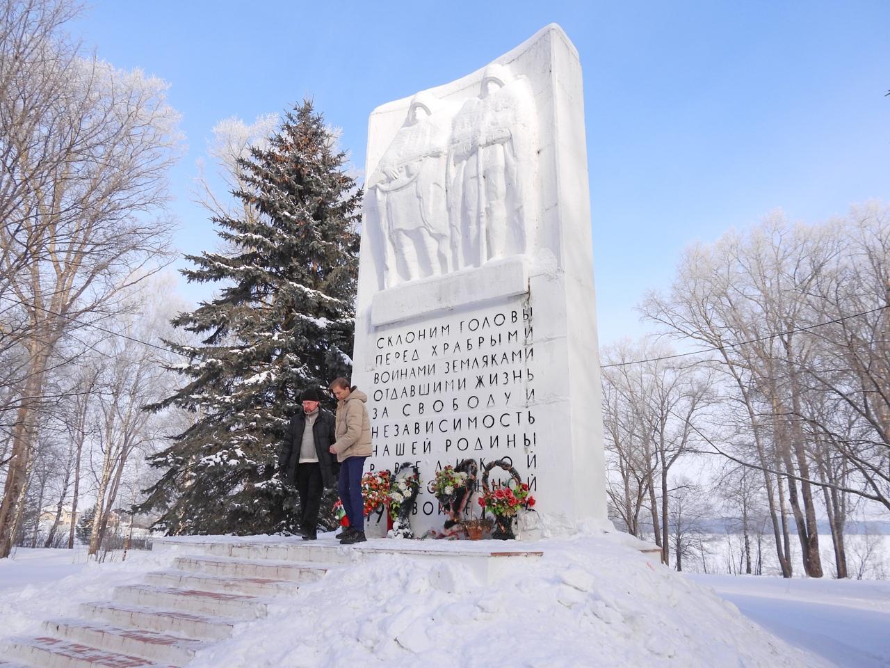 В Калязинском районе почтили память воинов, павших в годы Великой Отечественной войны