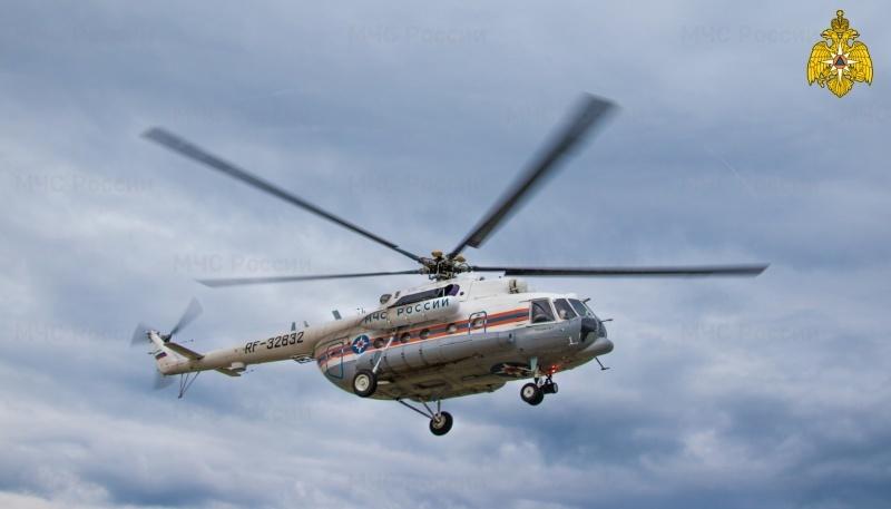 Ночью жителя Тверской области экстренно эвакуировали вертолётом санавиации