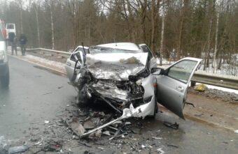 В Тверской области скончалась женщина, пострадавшая в лобовом столкновении
