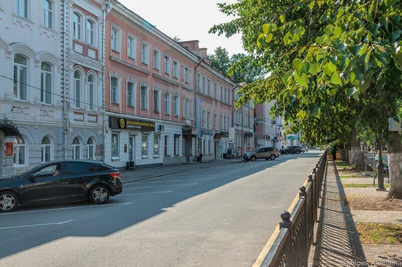В Твери на неделю перекроют бульвар Радищева