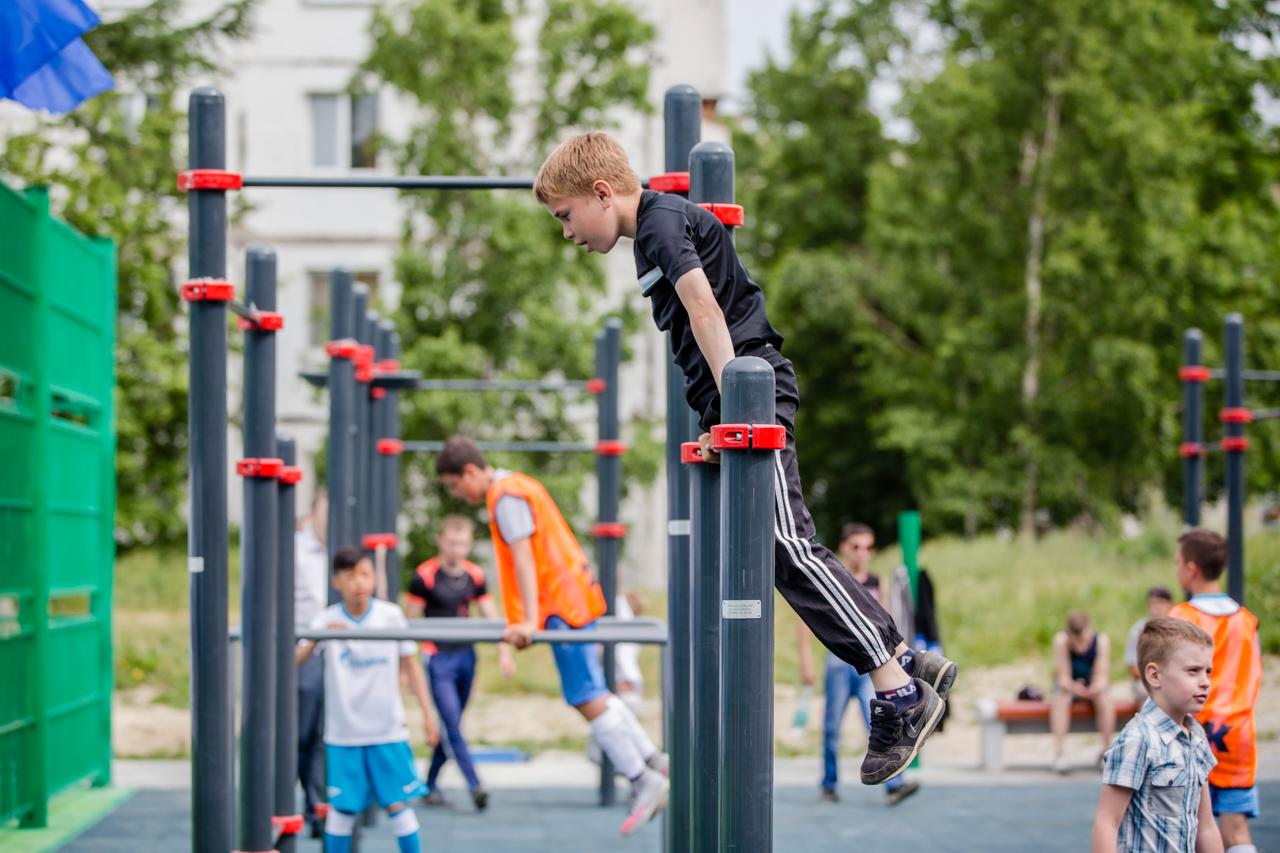 В Лихославле построят новую спортивную площадку стоимостью 2,7 млн рублей