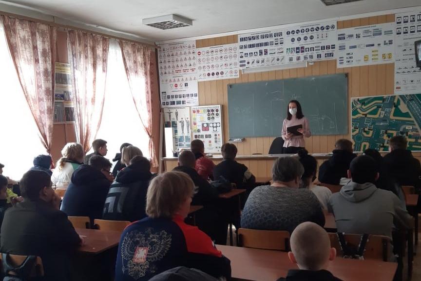 Лихославльским студентам напомнили о вреде курения и алкоголя