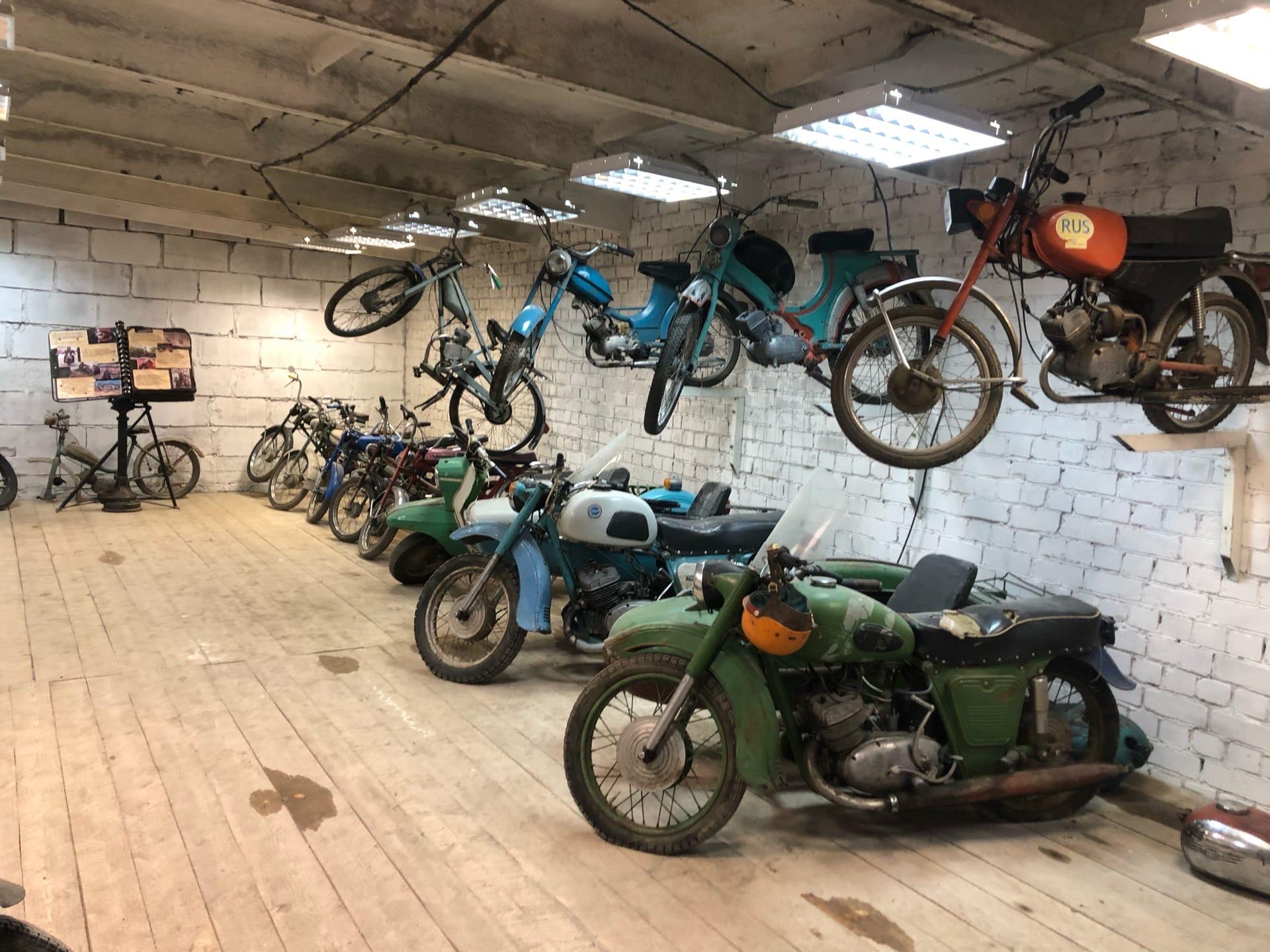Байкеры в Тверской области откроют музей ретро-мотоциклов