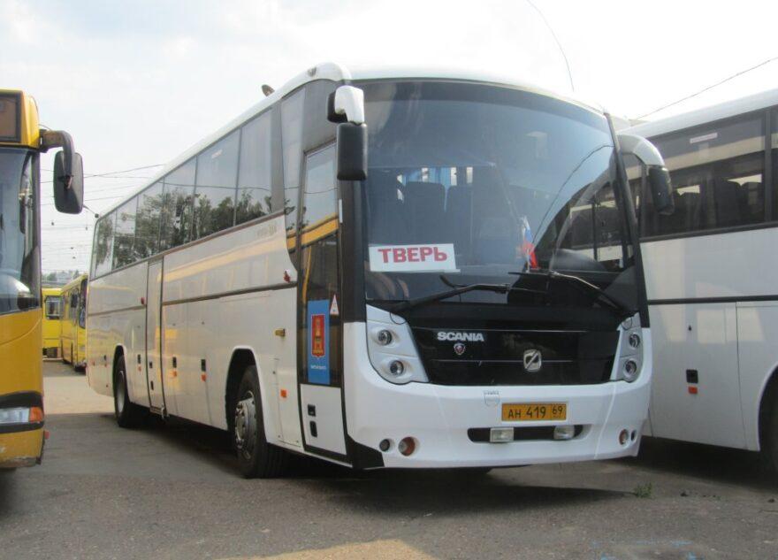 На железнодорожном вокзале в Твери можно купить билеты на автобусы
