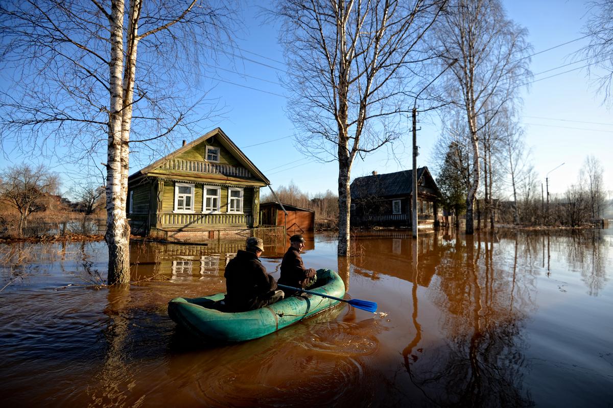 В Твери ввели режим повышенной готовности из-за угрозы паводка
