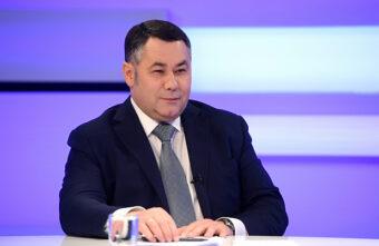 Игорь Руденя рассказал о хороших людях и первой поездке в Тверь