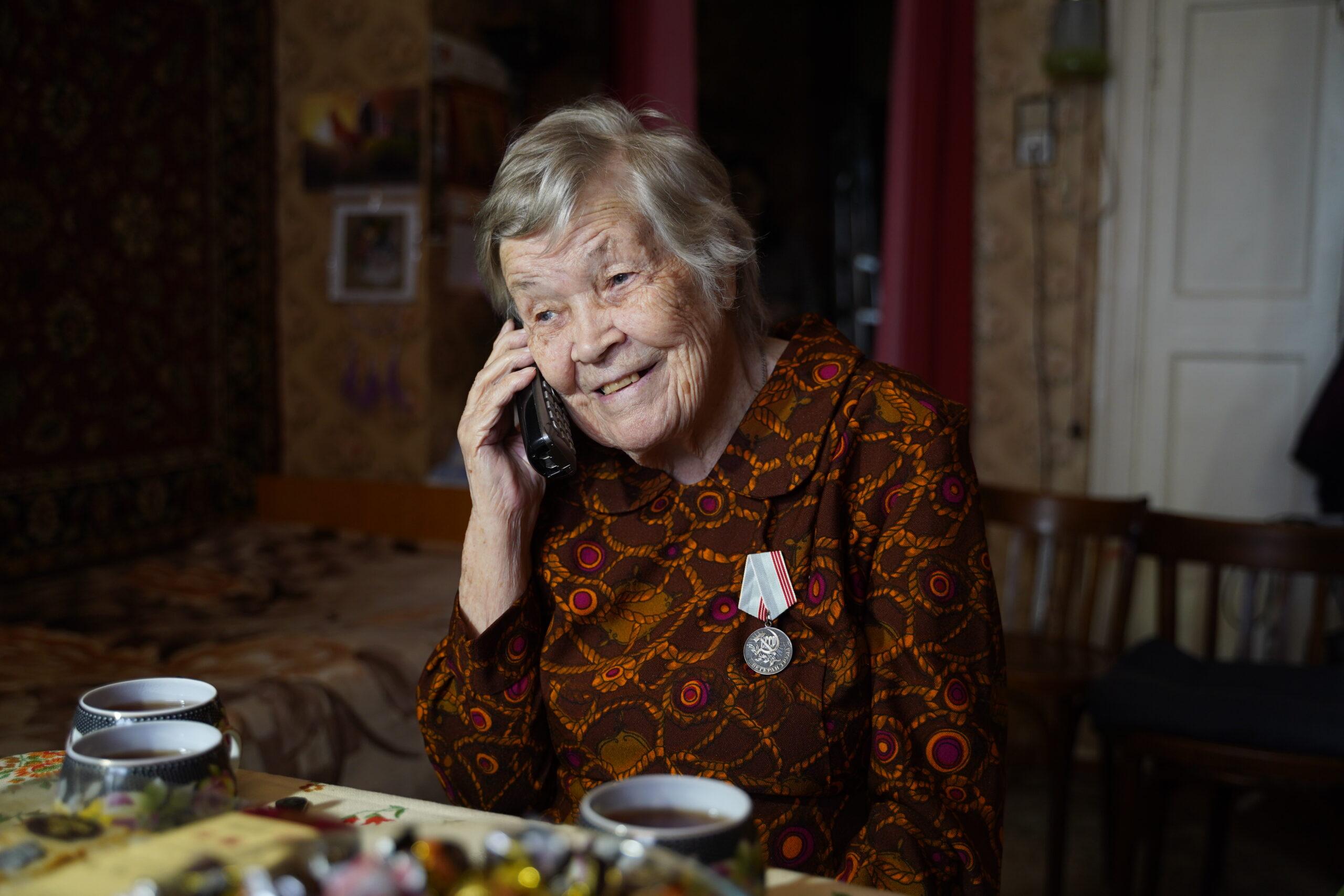 Медсестра, которая прошла через Великую Отечественную войну, празднует вековой юбилей в Твери
