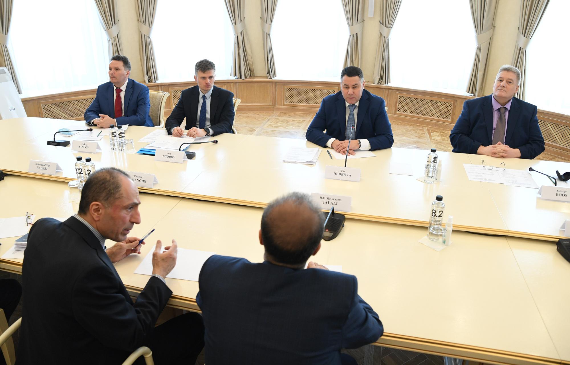 Губернатор Игорь Руденя обсудил с послом Ирана развитие экономического сотрудничества