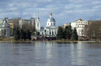 За половодьем в Тверской области следят с квадрокоптеров