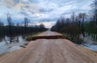 Дорожники рассказали, какие мосты в Тверской области весной размывает чаще