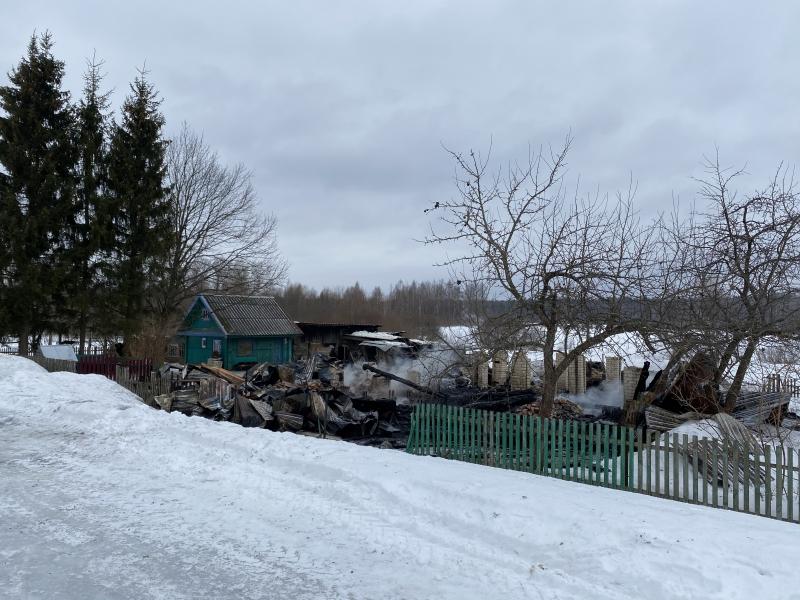 79-летняя женщина погибла при пожаре в Тверской области