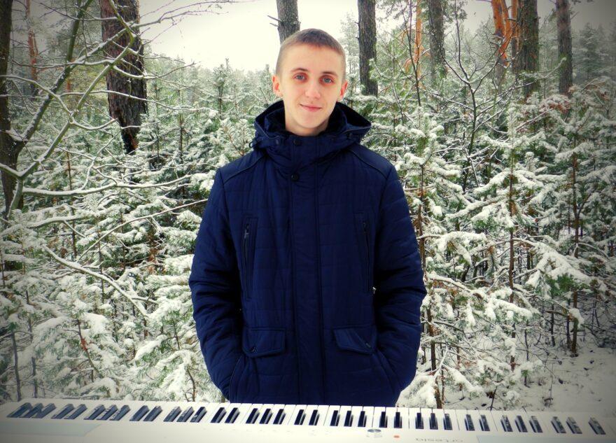 Тверской пианист вышел из леса в прямой эфир