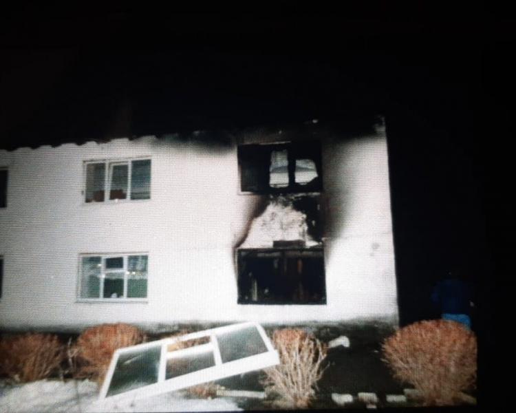 Пожилая женщина скончалась после пожара в интернате в Тверской области