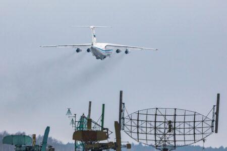 В небе над Тверью самолёты на ходу открывали люки и двери