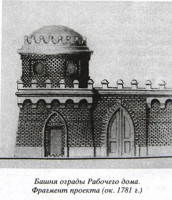 В Твери башни готического замка использовали для складов и караульни