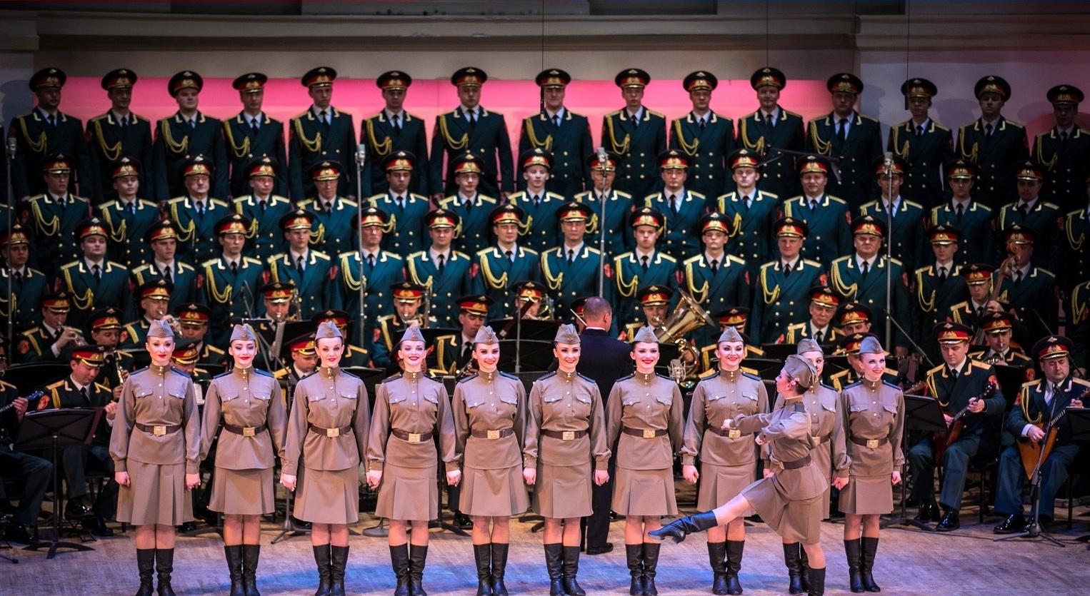 Легендарный ансамбль песни и пляски Российской Армии имени А.В. Александрова выступит в Твери