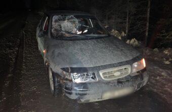 В Тверской области машина сбила нетрезвого подростка в тёмной одежде