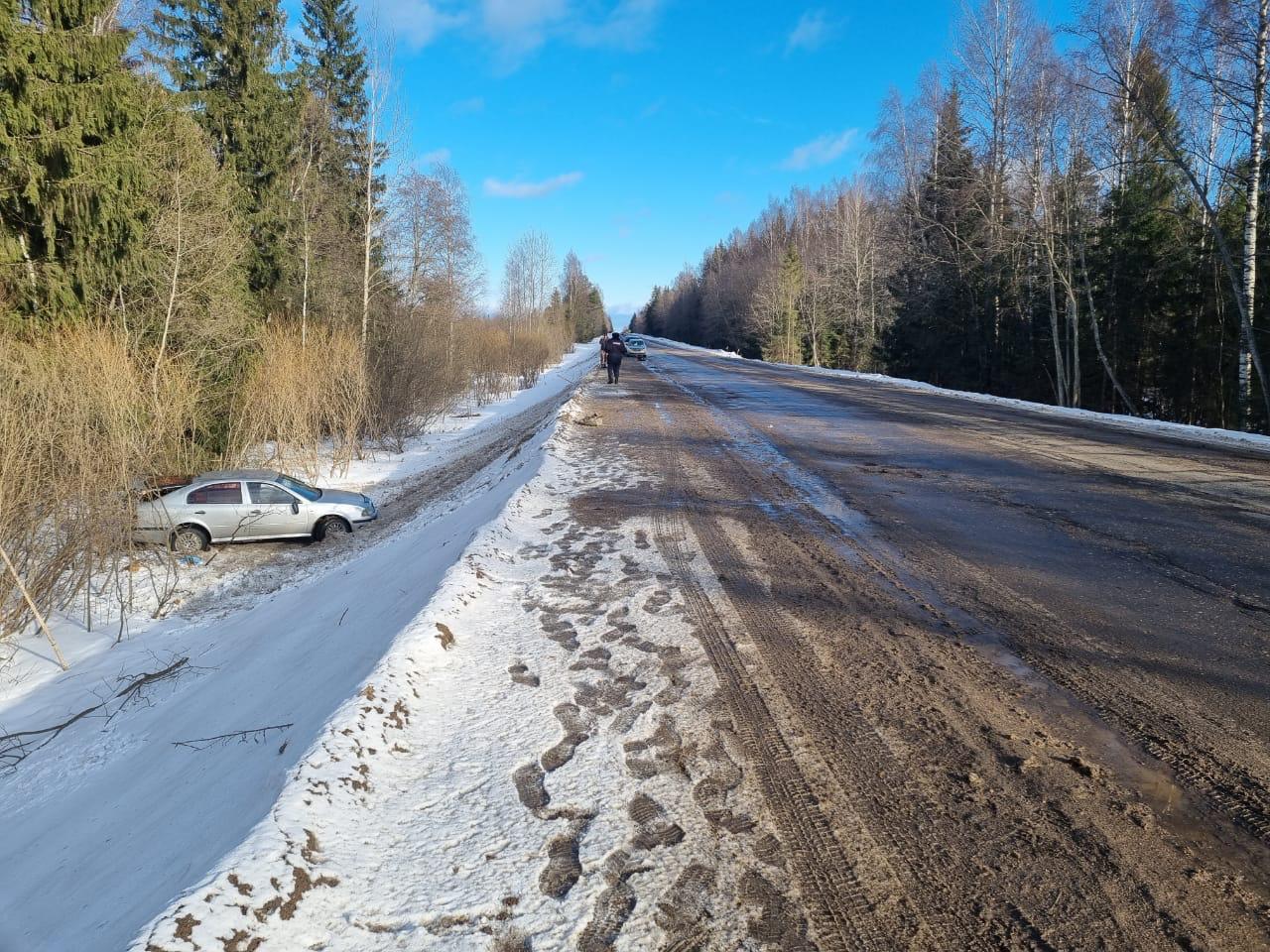 В аварии в Тверской области две женщины получили сложные переломы