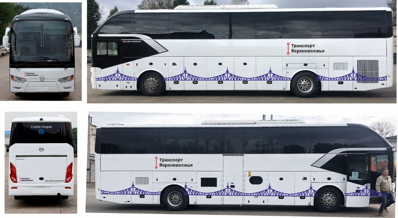 Автобусы с новым дизайном повезут жителей Тверской области по городам