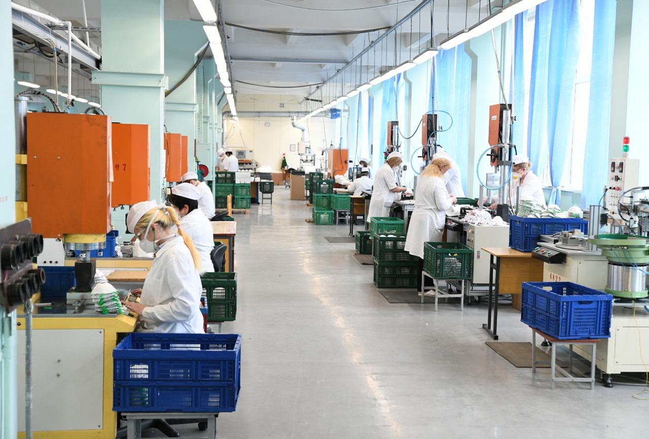 50 тысяч респираторов, произведённых в Тверской области, отправят в Чехию