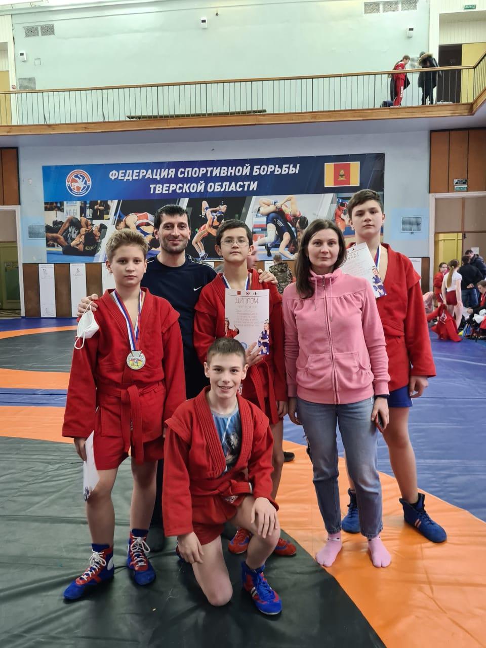 Вышневолоцкие спортсмены стали победителями на областных соревнованиях