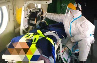 Пациентку с коронавирусом экстренно эвакуируют на вертолёте в Тверь