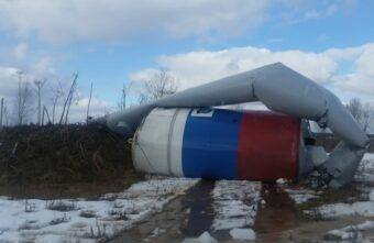 Стало известно, почему упала водонапорная башня в посёлке Тверской области