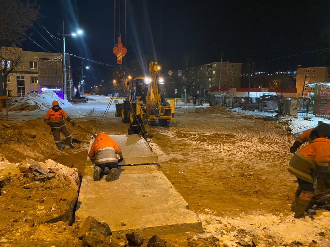 Утром 10 марта «Тверь Водоканал» обещает открыть движение по проспекту Победы