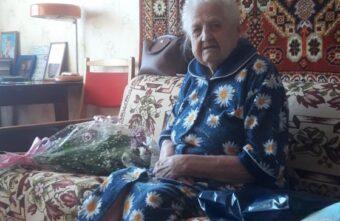105-летний юбилей отмечает жительница Тверской области Евдокия Федоровна Патронова