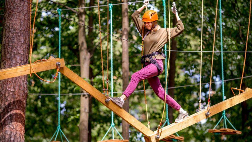 В Тверской области появится ещё один верёвочный парк