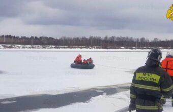 Под Тверью спасли рыбака, который оторвался от берега на льдине