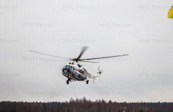 Вертолёт МЧС экстренно доставил тяжёлого пациента из Кимр в Тверь