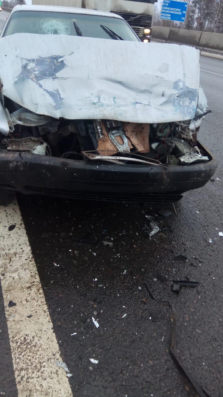 Под Тверью на М-10 Audi «догнала» «Ниву»: есть пострадавшие