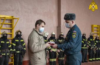 Житель Вышнего Волочка спас тонущего мальчика и получил медаль