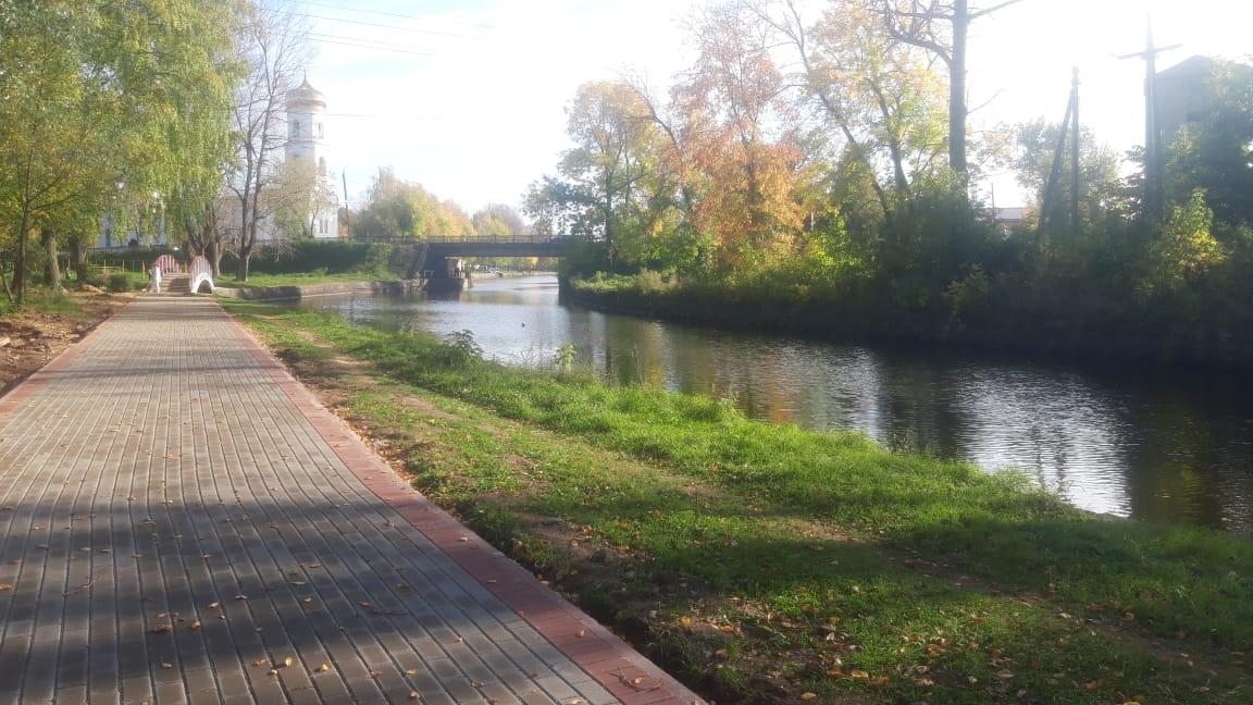 Вышневолочанам в Тверской области предлагают выбрать парк, сад или набережную