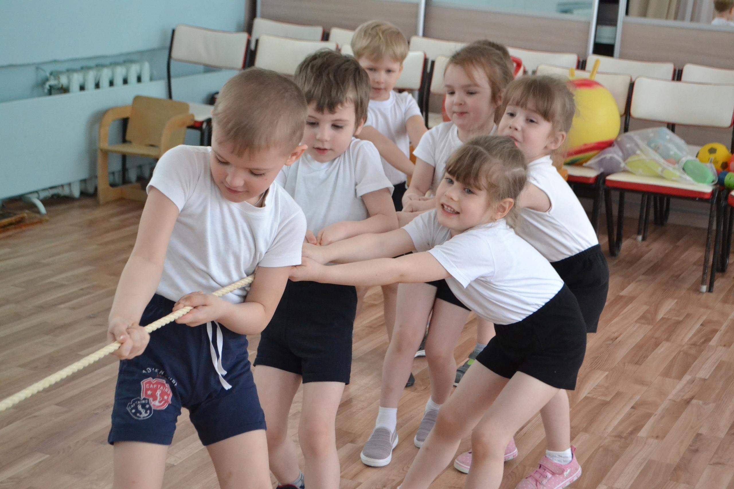Лихославльские дети отметили Международный день спорта