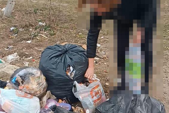 В Тверской области ловят детей и их родителей, которые мусорят на улицах