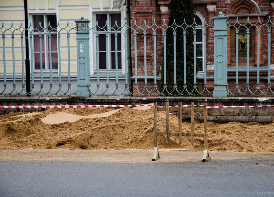В Твери при замене асфальта уничтожили исторически значимый объект