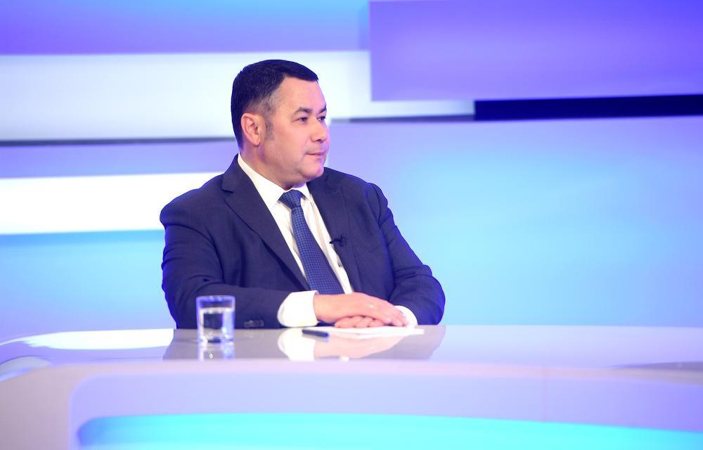 Выплаты, пожары и День Победы: Игорь Руденя вышел в прямой эфир