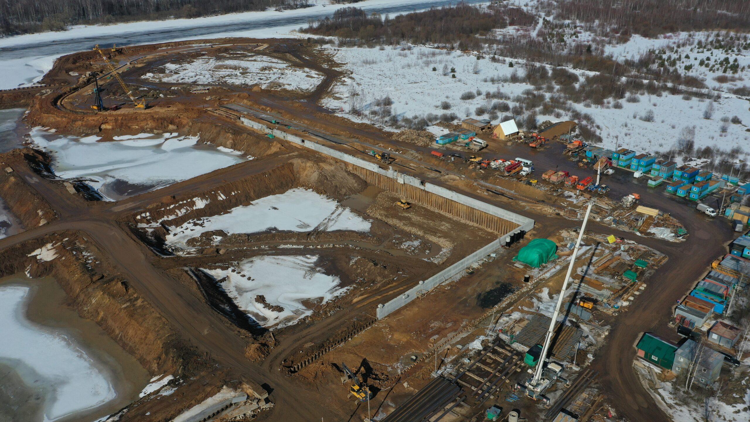В Тверской области готовятся к строительству причала нового речного порта