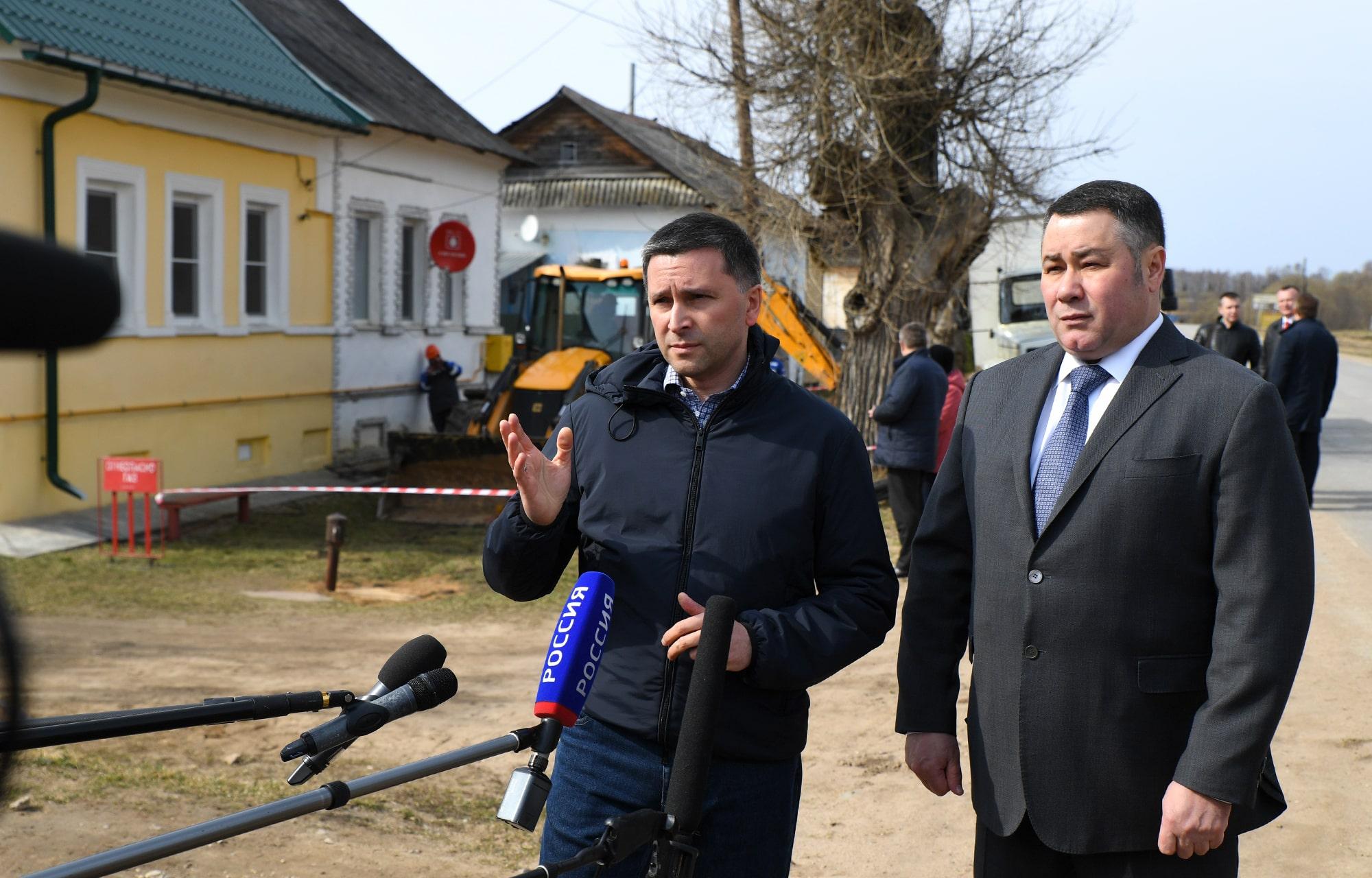Тверская область попала в федеральный телеэфир с сюжетом о газификации