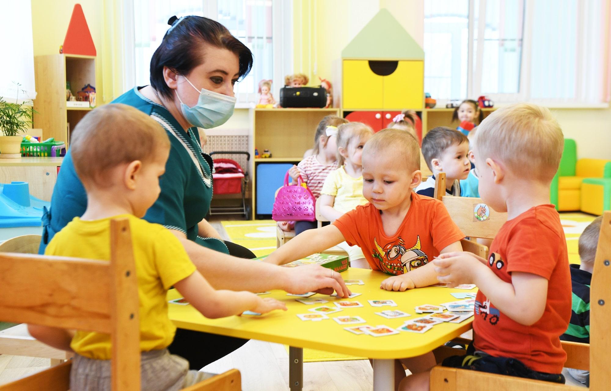 В Лихославльском районе больше нет очереди в детские сады