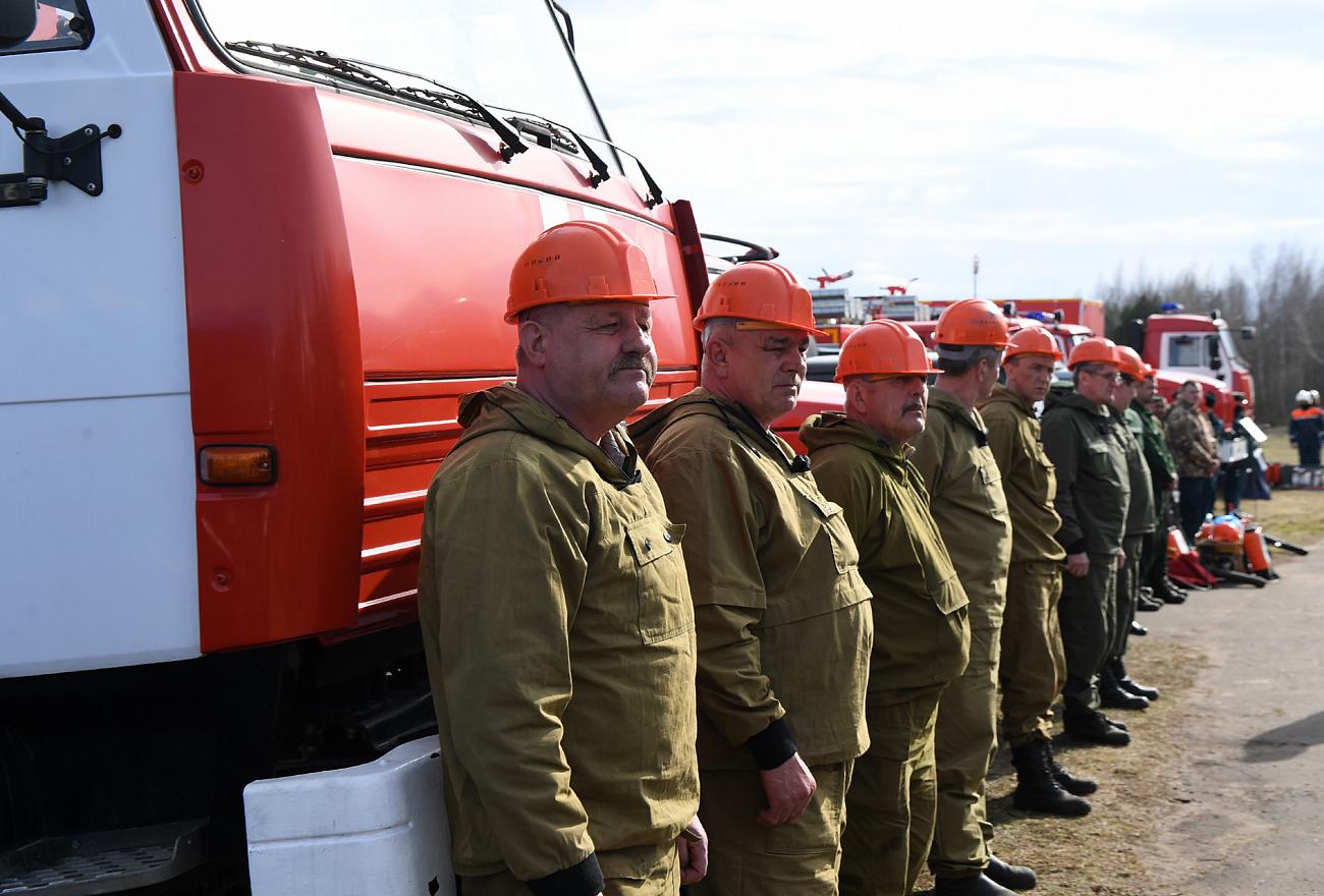 Игорь Руденя проверил готовность сил и средств Верхневолжья к пожароопасному периоду