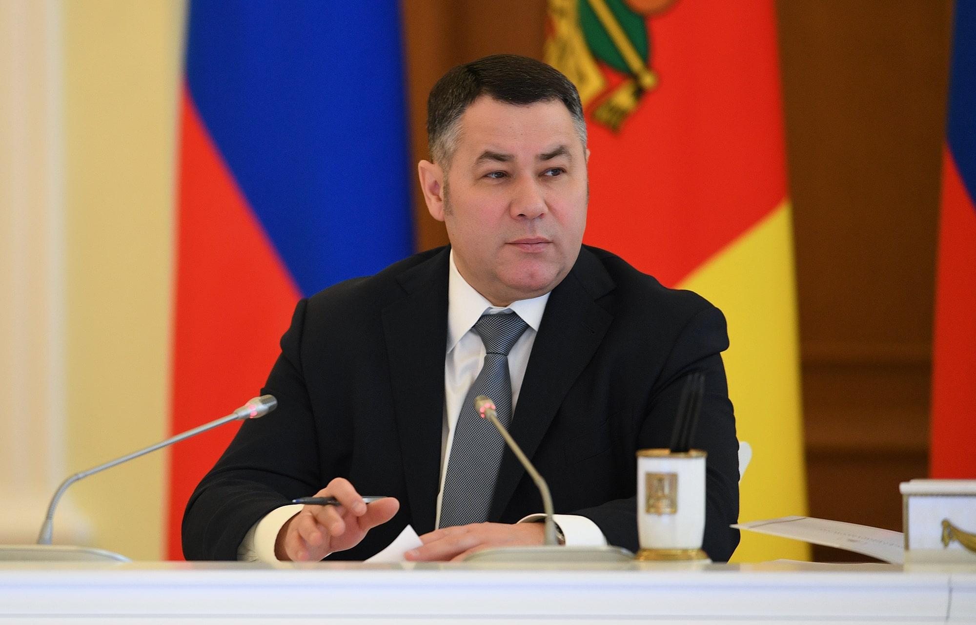 Игорь Руденя поставил задачи по исполнению в Тверской области послания президента России
